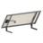 Support panneau sol ou mur Unifix 100 B