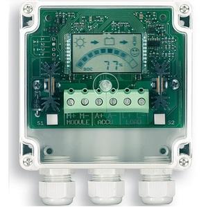 Régulateur solaire STECA PR 2020-IP-ALR  IP65 12/24V 20A écran LCD et contact d'alarme