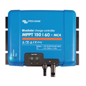 Régulateur solaire 60A 12/24/48V BlueSolar MPPT 150/60 Victron
