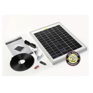 Panneau photovoltaique monocristallin 10Wc avec câble et connecteurs STP010