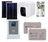 kit solaire complet avec chauffe eau electrique.