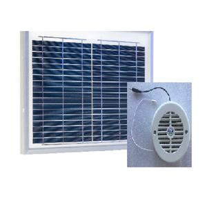Ventilateur solaire autonome avec capot