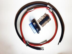 kit cablage batterie-convertisseur 24V et 5000 VA