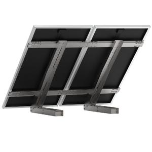 Support au sol pour 2 grands panneaux solaires UNIFIX 800