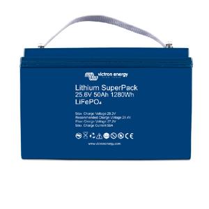 Lithium SuperPack 25,6V/50Ah (M8)