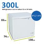Refrigerateur bahut 300 litres